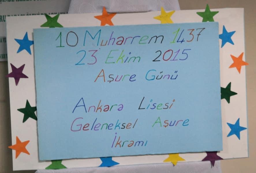 AŞURE GÜNÜ - 2015