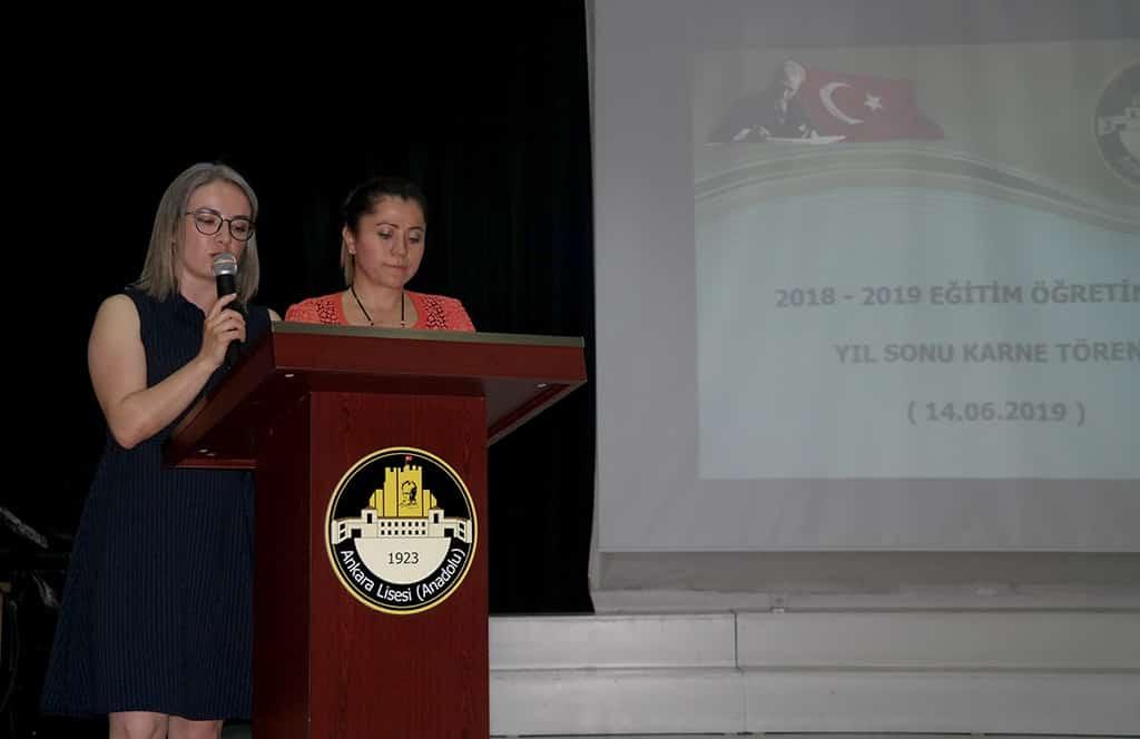 2018-2019 Yıl Sonu Karne Töreni